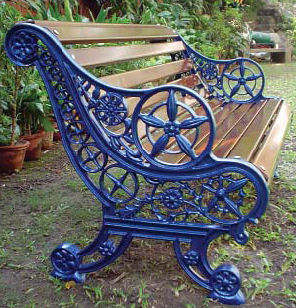 Park Benches From The Cast Iron Company